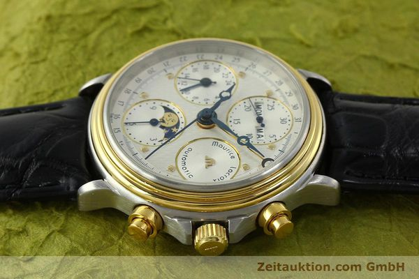 Used luxury watch Maurice Lacroix Phase de Lune  chronograph steel / gold automatic Kal. Val 7751 Ref. 02336  | 150861 05