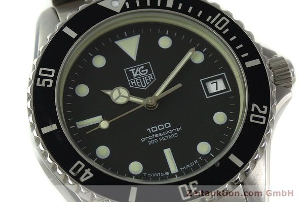 Used luxury watch Tag Heuer Professional steel quartz Kal. ETA 955114 Ref. 980.013B  | 150864 02