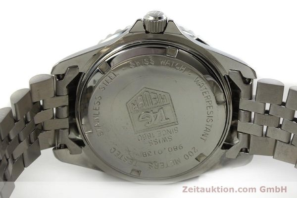 Used luxury watch Tag Heuer Professional steel quartz Kal. ETA 955114 Ref. 980.013B  | 150864 09