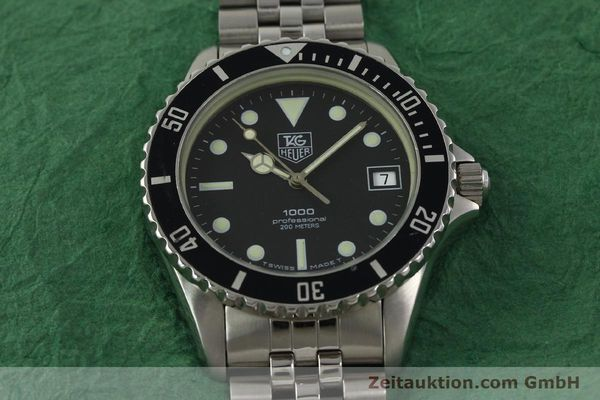 Used luxury watch Tag Heuer Professional steel quartz Kal. ETA 955114 Ref. 980.013B  | 150864 13