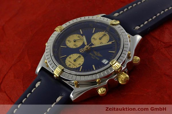 Used luxury watch Breitling Chronomat chronograph steel automatic Kal. B13 ETA 7750 Ref. B13048  | 150866 01