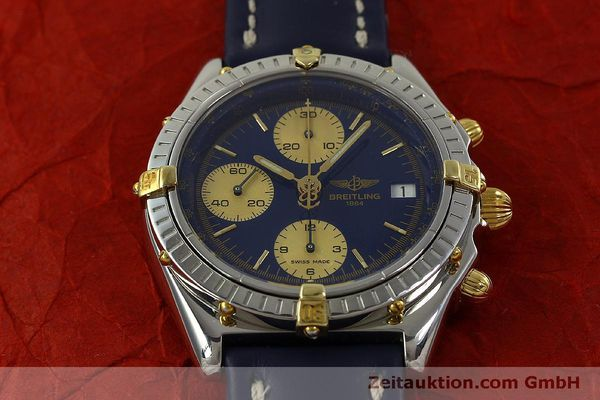 Used luxury watch Breitling Chronomat chronograph steel automatic Kal. B13 ETA 7750 Ref. B13048  | 150866 15