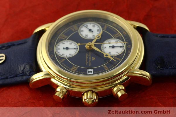 Used luxury watch Maurice Lacroix Croneo chronograph gold-plated automatic Kal. ETA 7750 Ref. 03700  | 150867 05