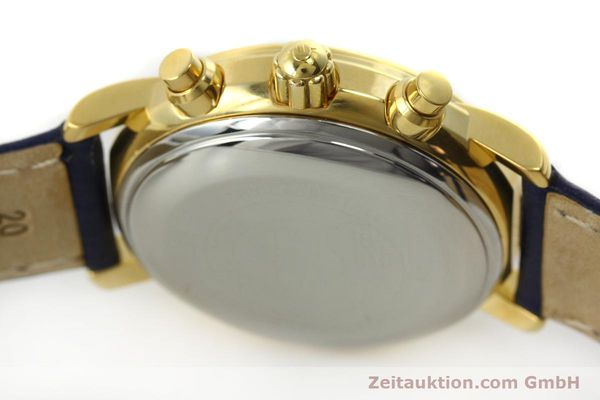 Used luxury watch Maurice Lacroix Croneo chronograph gold-plated automatic Kal. ETA 7750 Ref. 03700  | 150867 08