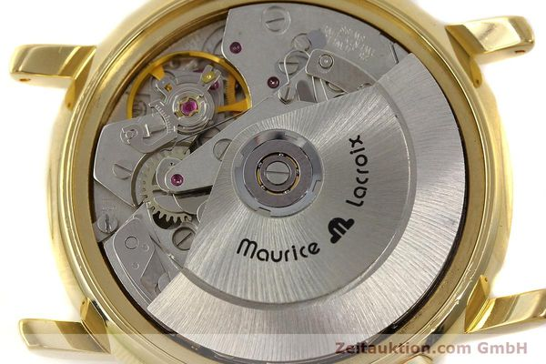 Used luxury watch Maurice Lacroix Croneo chronograph gold-plated automatic Kal. ETA 7750 Ref. 03700  | 150867 10