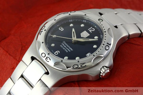 Used luxury watch Tag Heuer Professional steel automatic Kal. 7 ETA 2892A2 Ref. WL5113-0  | 150868 01