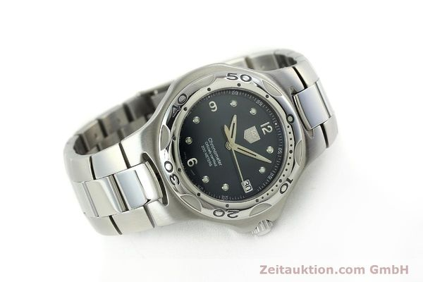 Used luxury watch Tag Heuer Professional steel automatic Kal. 7 ETA 2892A2 Ref. WL5113-0  | 150868 03