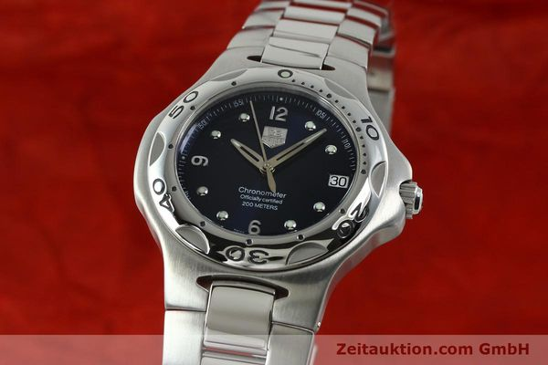 Used luxury watch Tag Heuer Professional steel automatic Kal. 7 ETA 2892A2 Ref. WL5113-0  | 150868 04