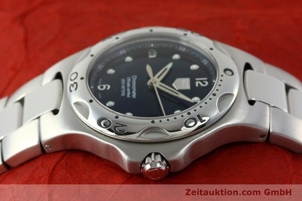 Used luxury watch Tag Heuer Professional steel automatic Kal. 7 ETA 2892A2 Ref. WL5113-0  | 150868 05