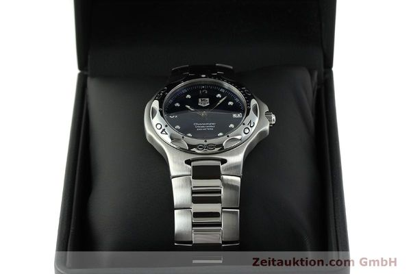 Used luxury watch Tag Heuer Professional steel automatic Kal. 7 ETA 2892A2 Ref. WL5113-0  | 150868 07