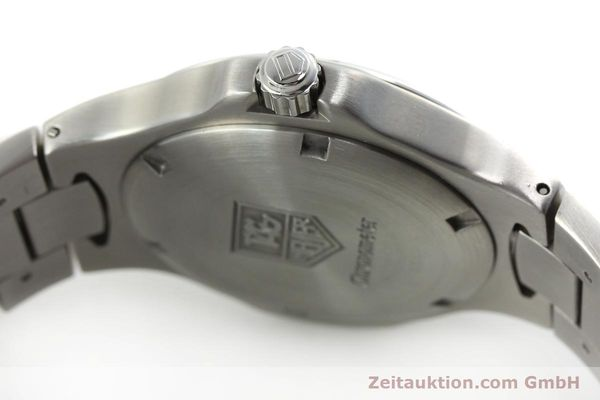 Used luxury watch Tag Heuer Professional steel automatic Kal. 7 ETA 2892A2 Ref. WL5113-0  | 150868 08