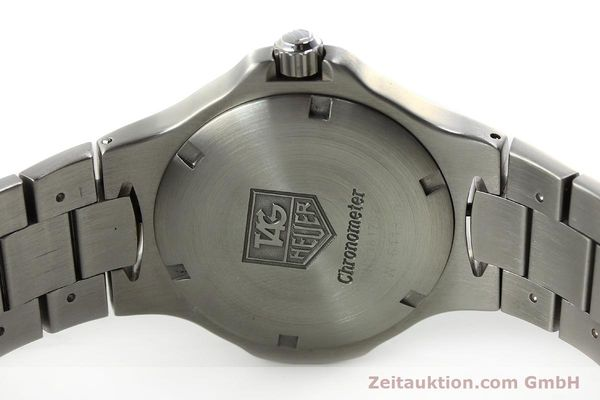 Used luxury watch Tag Heuer Professional steel automatic Kal. 7 ETA 2892A2 Ref. WL5113-0  | 150868 09