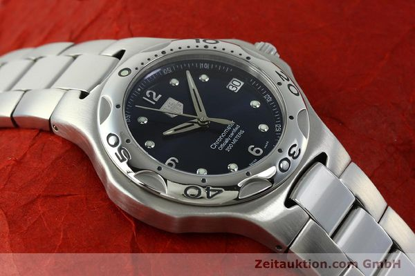 Used luxury watch Tag Heuer Professional steel automatic Kal. 7 ETA 2892A2 Ref. WL5113-0  | 150868 14