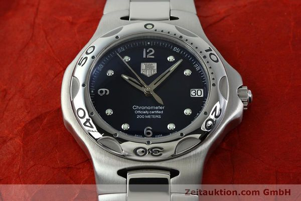 Used luxury watch Tag Heuer Professional steel automatic Kal. 7 ETA 2892A2 Ref. WL5113-0  | 150868 15