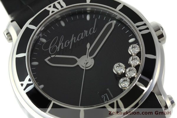 Used luxury watch Chopard Happy Sport steel quartz Kal. ETA 955.112  | 150869 02