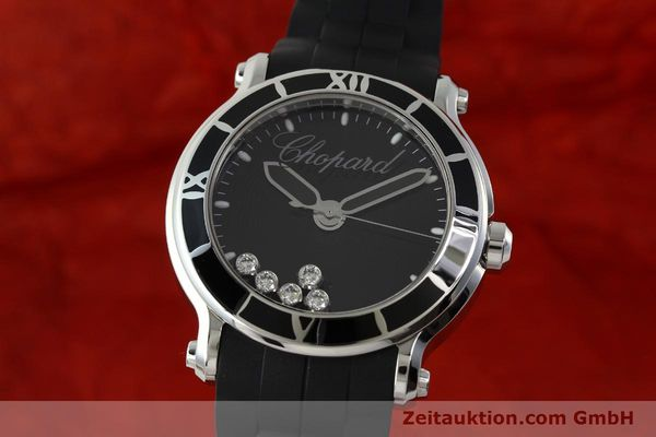 Used luxury watch Chopard Happy Sport steel quartz Kal. ETA 955.112  | 150869 04