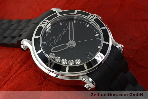 Used luxury watch Chopard Happy Sport steel quartz Kal. ETA 955.112  | 150869 15