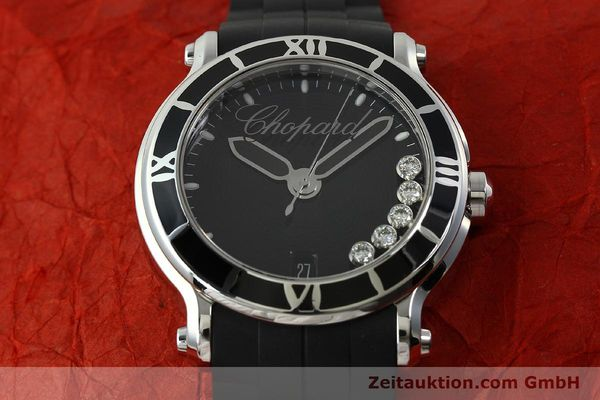 Used luxury watch Chopard Happy Sport steel quartz Kal. ETA 955.112  | 150869 16