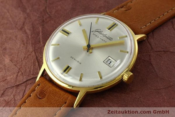 Used luxury watch Glashütte Spezimatic gold-plated automatic Kal. 75  | 150870 01