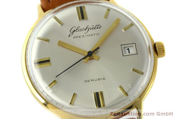 Used luxury watch Glashütte Spezimatic gold-plated automatic Kal. 75  | 150870 02
