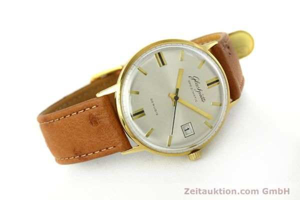 Used luxury watch Glashütte Spezimatic gold-plated automatic Kal. 75  | 150870 03