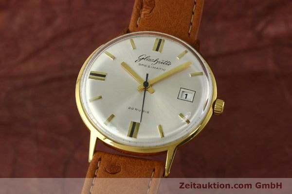 Used luxury watch Glashütte Spezimatic gold-plated automatic Kal. 75  | 150870 04