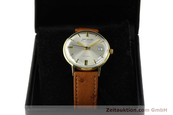 Used luxury watch Glashütte Spezimatic gold-plated automatic Kal. 75  | 150870 07