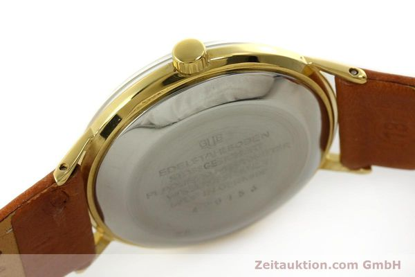 Used luxury watch Glashütte Spezimatic gold-plated automatic Kal. 75  | 150870 08