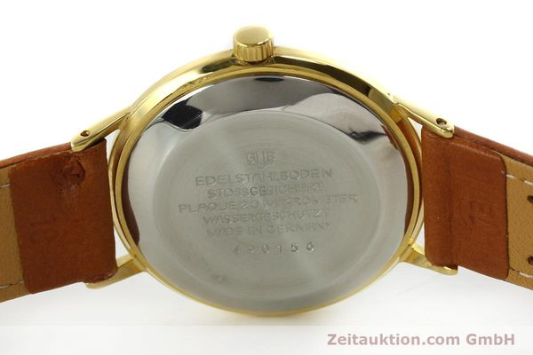 Used luxury watch Glashütte Spezimatic gold-plated automatic Kal. 75  | 150870 09