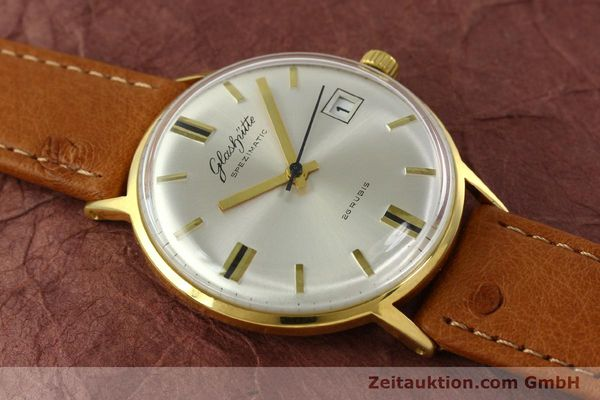 Used luxury watch Glashütte Spezimatic gold-plated automatic Kal. 75  | 150870 12