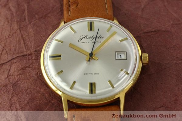 Used luxury watch Glashütte Spezimatic gold-plated automatic Kal. 75  | 150870 13
