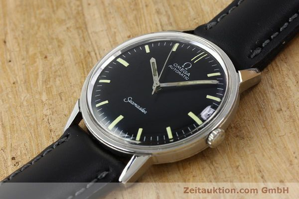 Used luxury watch Omega Seamaster steel automatic Kal. 552 Ref. 165.002 VINTAGE  | 150875 01