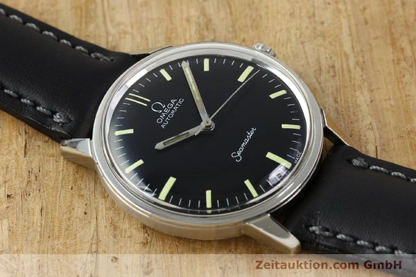 Used luxury watch Omega Seamaster steel automatic Kal. 552 Ref. 165.002 VINTAGE  | 150875 13