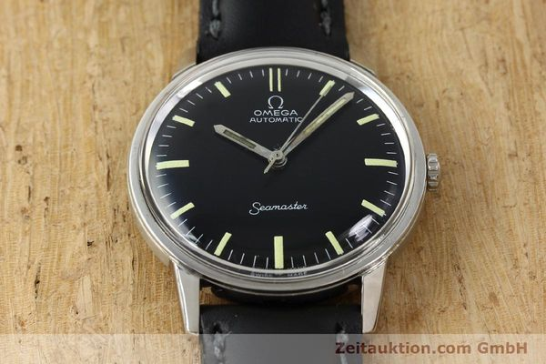 Used luxury watch Omega Seamaster steel automatic Kal. 552 Ref. 165.002 VINTAGE  | 150875 14