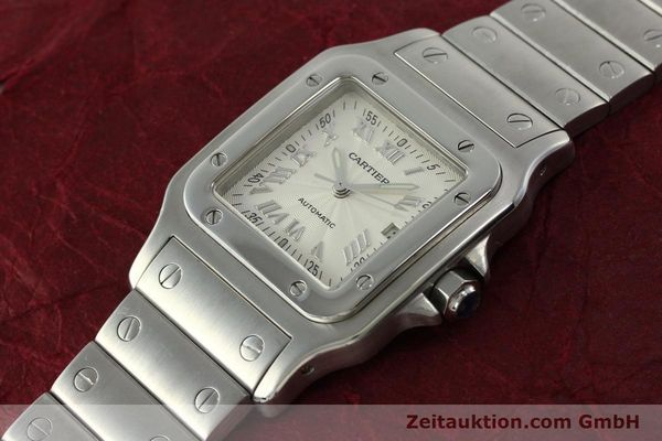 Used luxury watch Cartier Santos steel automatic Kal. 120 ETA 2000-1  | 150876 01