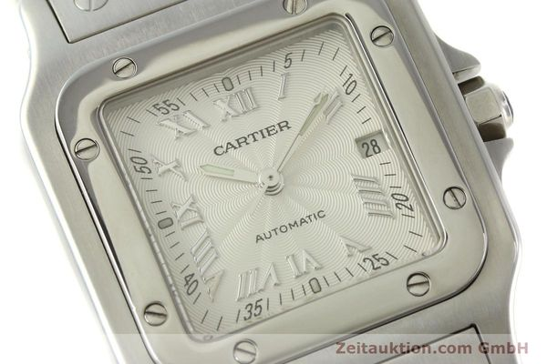 Used luxury watch Cartier Santos steel automatic Kal. 120 ETA 2000-1  | 150876 02