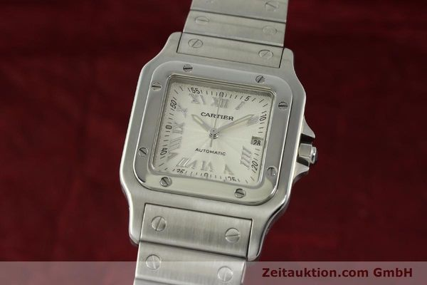 Used luxury watch Cartier Santos steel automatic Kal. 120 ETA 2000-1  | 150876 04