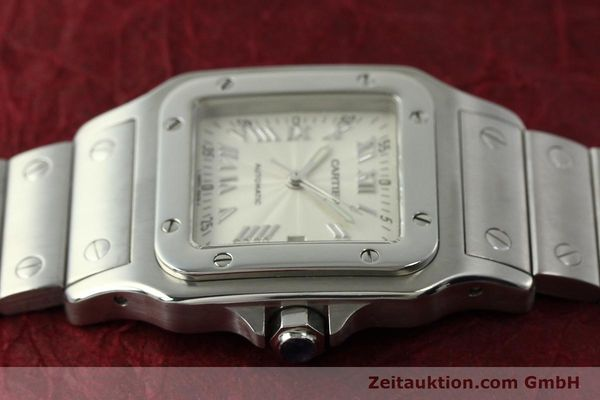 Used luxury watch Cartier Santos steel automatic Kal. 120 ETA 2000-1  | 150876 05