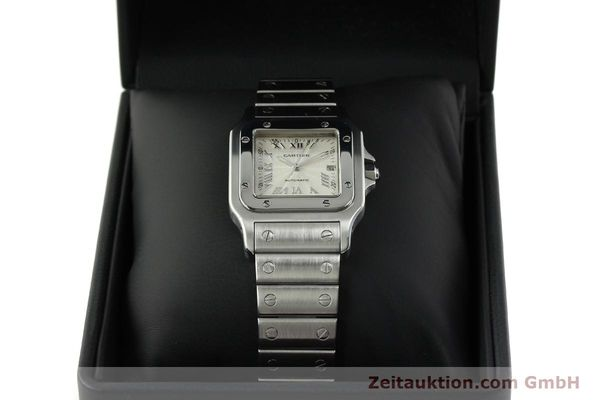 Used luxury watch Cartier Santos steel automatic Kal. 120 ETA 2000-1  | 150876 07