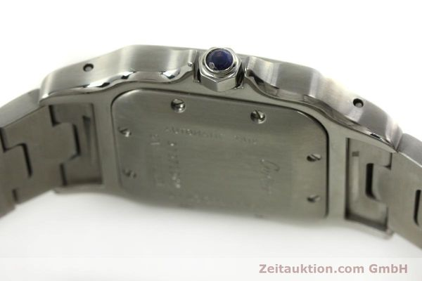 Used luxury watch Cartier Santos steel automatic Kal. 120 ETA 2000-1  | 150876 08