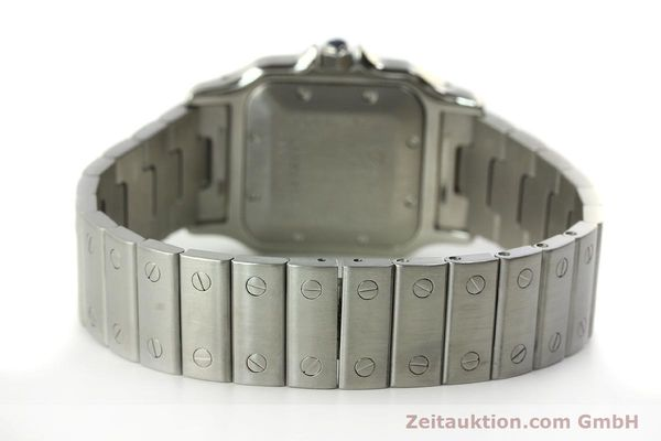 Used luxury watch Cartier Santos steel automatic Kal. 120 ETA 2000-1  | 150876 11