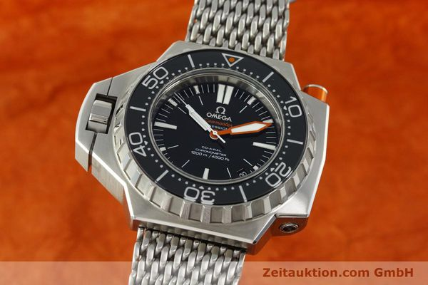 Used luxury watch Omega Seamaster steel automatic Kal. 8500  | 150883 04