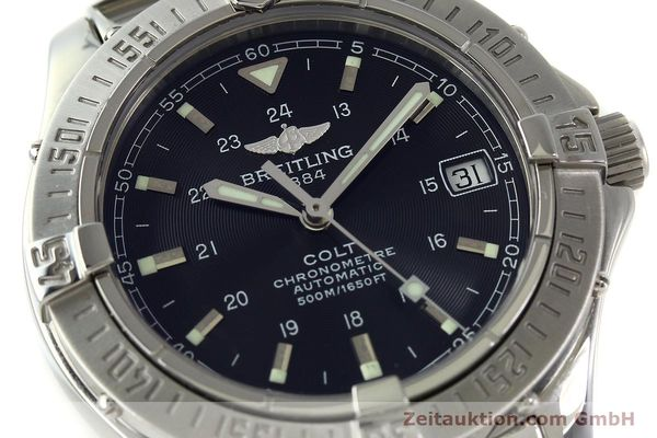 Used luxury watch Breitling Colt steel automatic Kal. B17 ETA 2824-2 Ref. A17350  | 150889 02