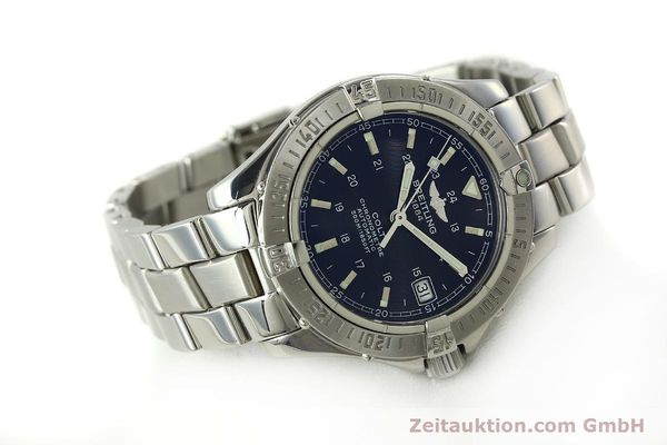 Used luxury watch Breitling Colt steel automatic Kal. B17 ETA 2824-2 Ref. A17350  | 150889 03