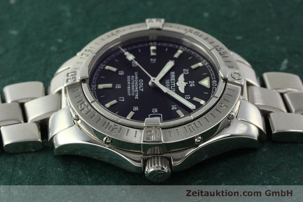 Used luxury watch Breitling Colt steel automatic Kal. B17 ETA 2824-2 Ref. A17350  | 150889 05