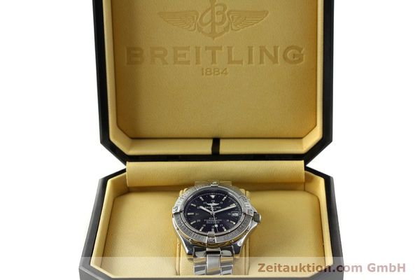 Used luxury watch Breitling Colt steel automatic Kal. B17 ETA 2824-2 Ref. A17350  | 150889 07