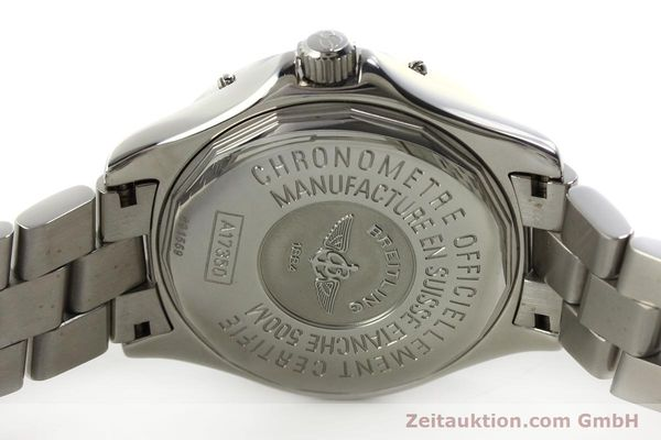 Used luxury watch Breitling Colt steel automatic Kal. B17 ETA 2824-2 Ref. A17350  | 150889 09