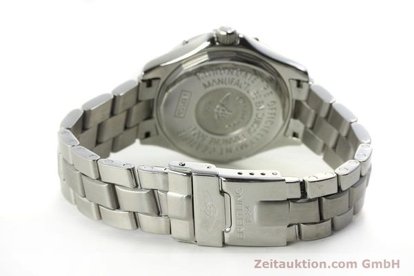 Used luxury watch Breitling Colt steel automatic Kal. B17 ETA 2824-2 Ref. A17350  | 150889 12