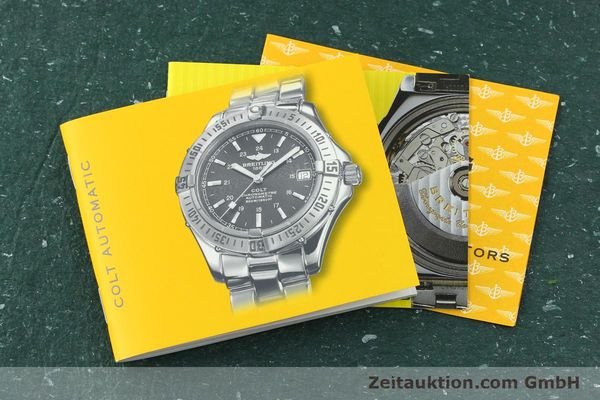 Used luxury watch Breitling Colt steel automatic Kal. B17 ETA 2824-2 Ref. A17350  | 150889 14