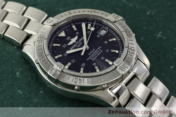 Used luxury watch Breitling Colt steel automatic Kal. B17 ETA 2824-2 Ref. A17350  | 150889 17